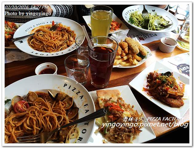 [連鎖]雲林斗六 Pizza Factory-披薩工廠 斗六廠 @ yingoyingo :: 痞客邦