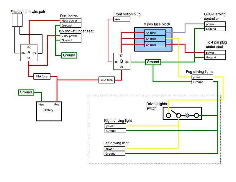 12vdc 30 40a relay wiring diagram buffet table spdt mechanical ~ elsavadorla
