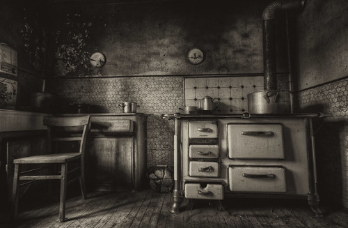 Kitchen Ruins  An old and creepy abandoned Kitchen