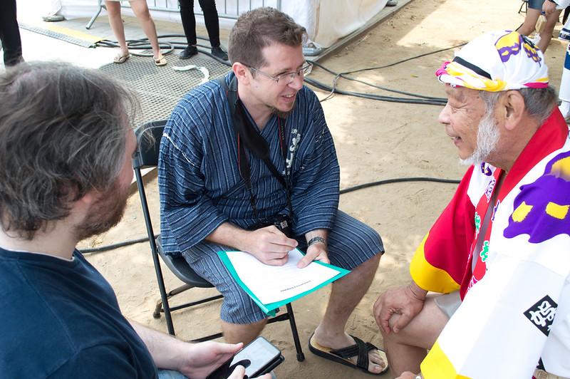 Entrevista a Oka Hideaki