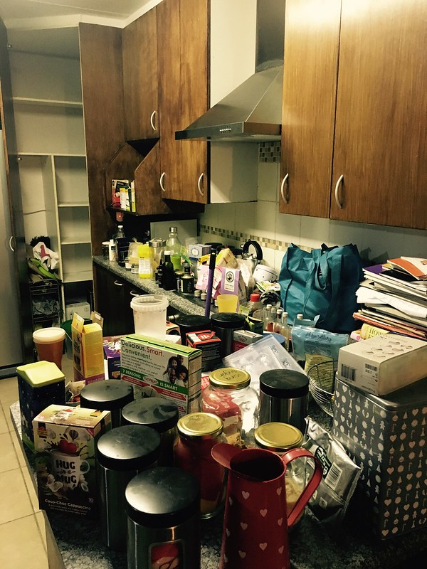 Kitchen renovation: spending the night emptying it
