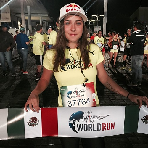 Larissa Morales - Wings for Life World Run Guadalajara 2016