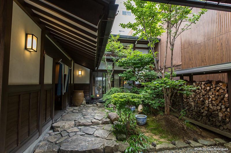 Ryokan en Takayama, conseguido a través de Booking