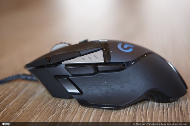 The Logitech G502 Proteus Spectrum has 11 easy programmable buttons.