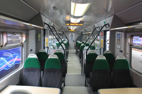Refurbished GWR Class 150 Interior  18th June 2016