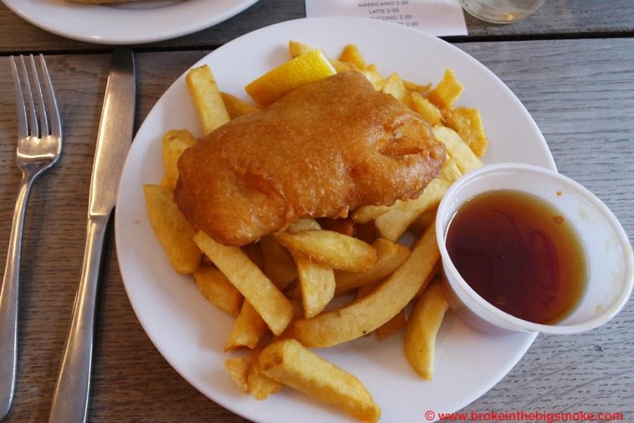 Kerbisher and Malt Fish n chips 1