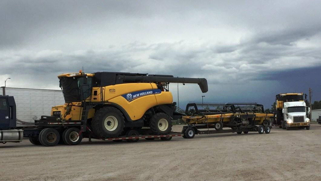 Convoy ready to go