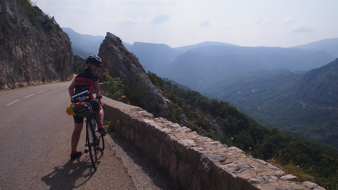 Cycling from Geneva to Nice, 2015