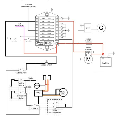 small resolution of m unit xj650 wiring diagram thomas branco flickr xj650 wiring color coded diagram xj650 wiring