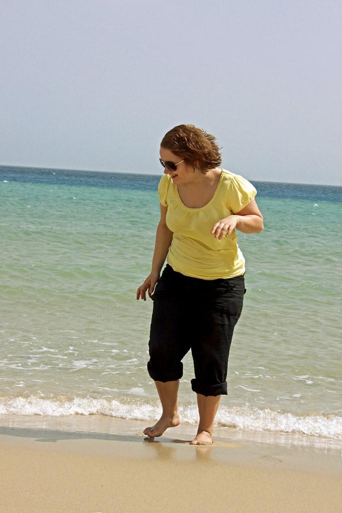 strand i Qatar
