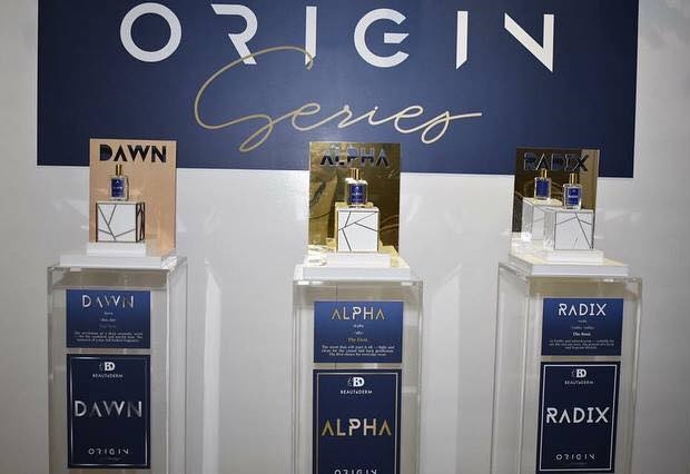 Beautederm Origin Series Perfume For Men Launch