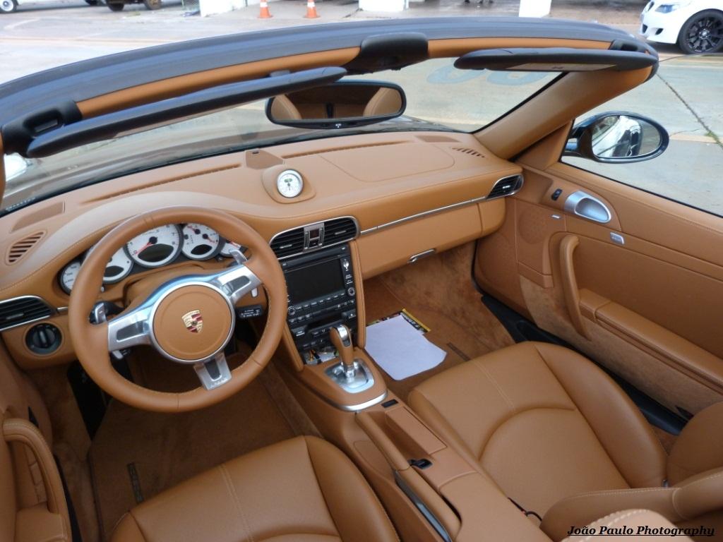 PORSCHE 911 TURBO S CABRIO MKII Interior Caramelo Show