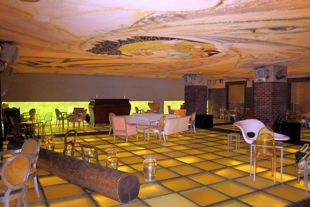 NYC Hudson Hotel  Hudson Bar  The Hudson Bar located