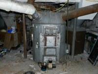 The octopus | Sunbeam gravity fed coal hot air furnace ...