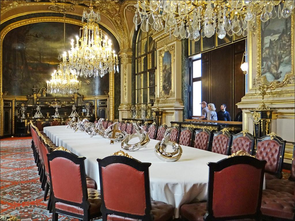 La grande salle  manger des appartements de Napolon III  Flickr