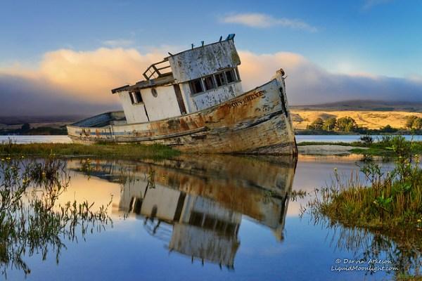 dream boat - point reyes shipwreck
