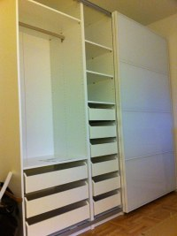 IKEA Pax Wardrobe with Drawers - White | IKEA Pax Wardrobe ...