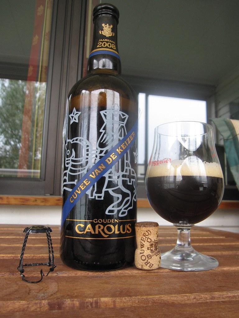 Gouden Carolus Cuvee van de Keizer Blauw 2008  A bottle