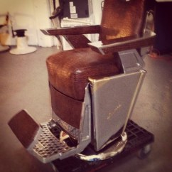 Mobile Barber Chair Swing Double Antique 48