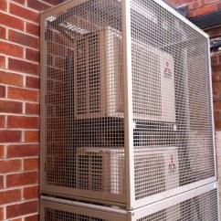 Air Conditioner Cage Generac Home Standby Generator Wiring Diagram Mitsubishi Electric Suz-ka50 Heat Pump Inverter Condensing… | Flickr