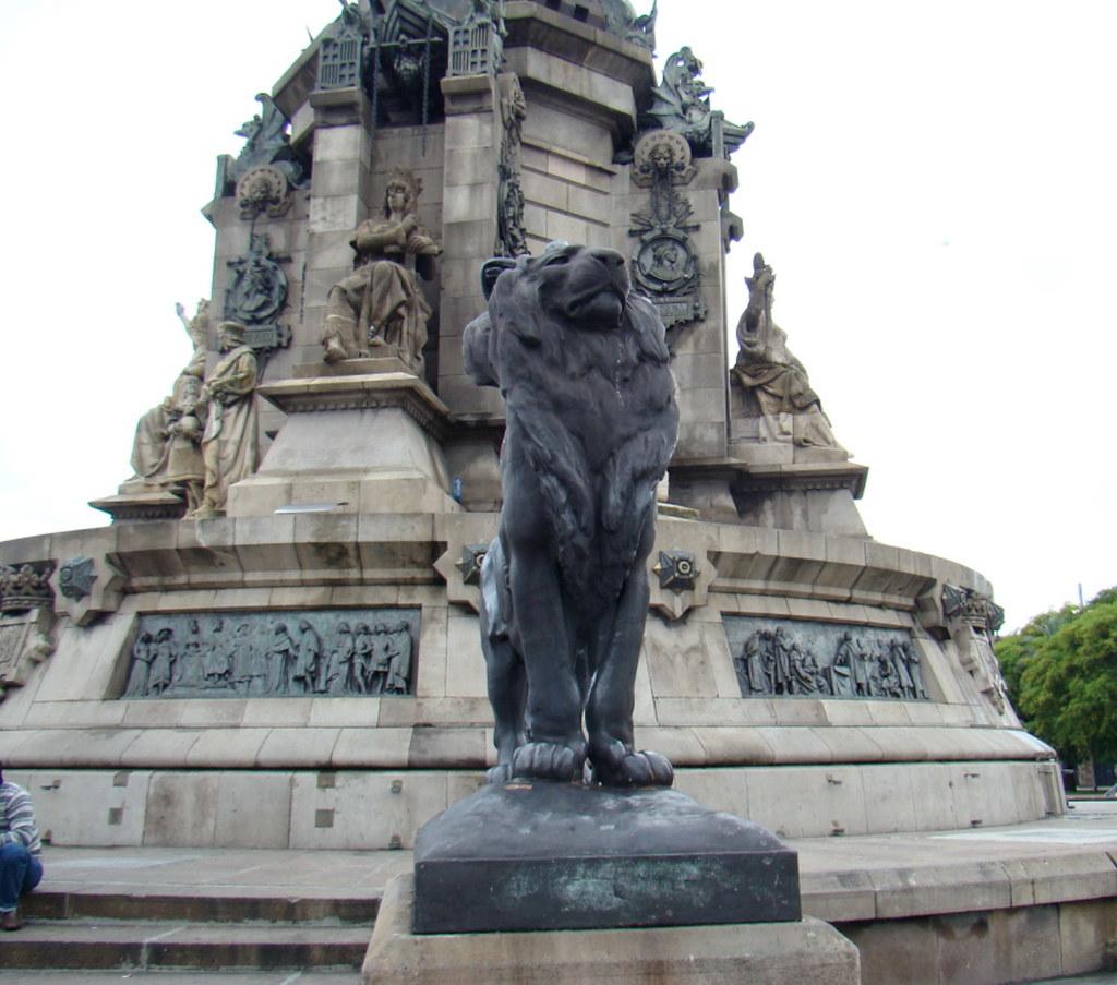 Barcelona Monumento a Colon 03