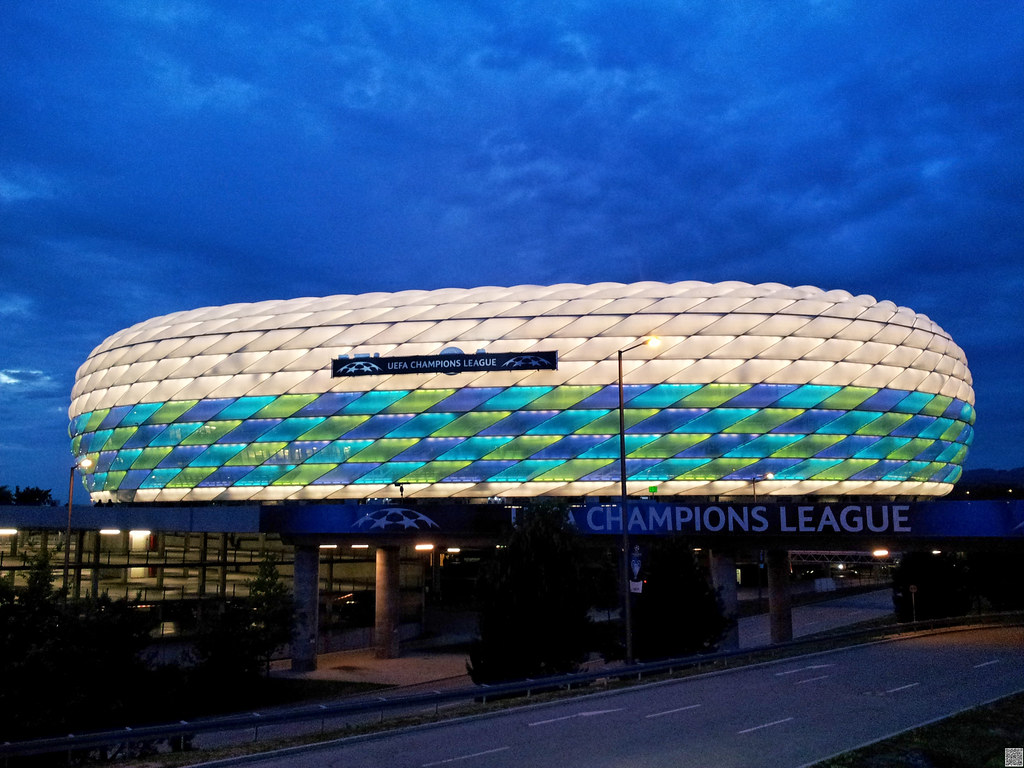 Allianz Arena Munich Germany  Allianz Arena Munich