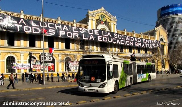 Transantiago 403 | Express | Marcopolo Gran Viale - Volvo B9 SALF / WA9118