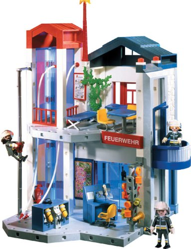 Playmobil 3885 Fire Station Headquarters Save On Playmobil Flickr