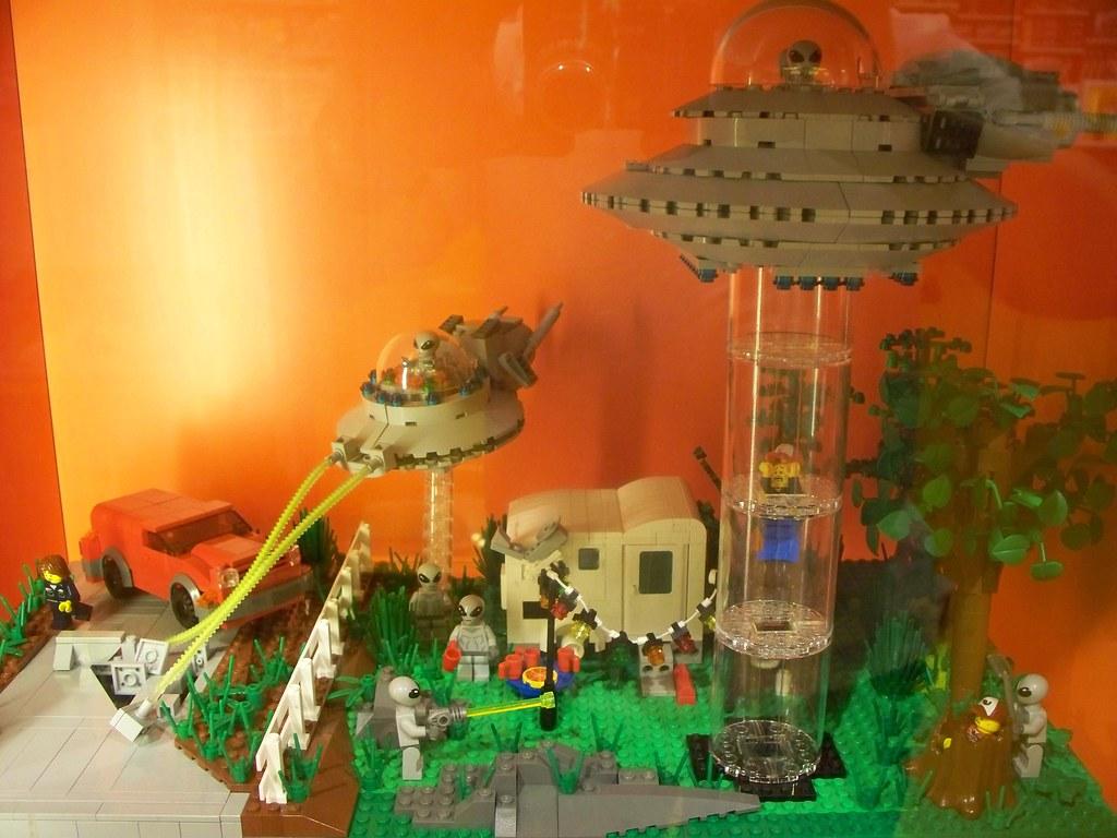 Alien Abduction Lego Display I Originally Built For