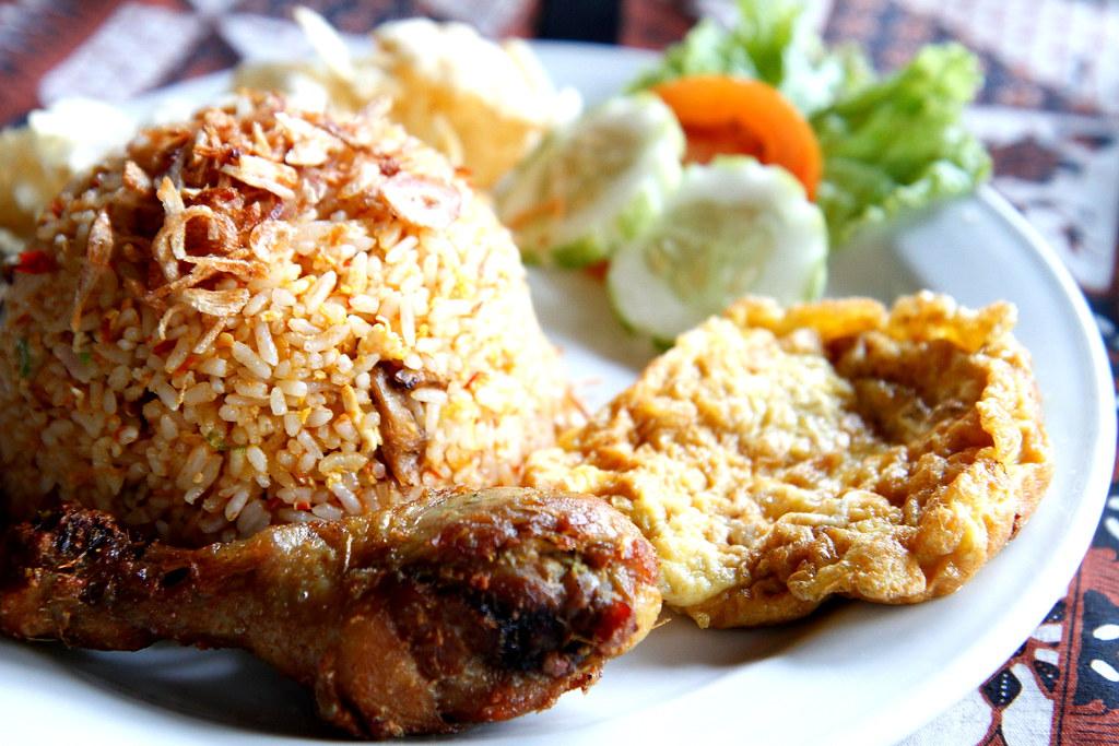 Nasi Goreng Ayam Telur  Darren Sim  Flickr