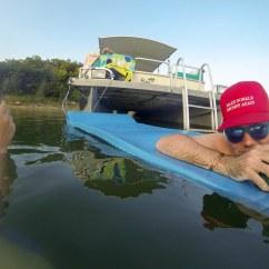 Rocking Chair Resort Mountain Home Arkansas Ribbon Design Floating And Drinking At Lake Norfork  Jan Warren 39s Spot