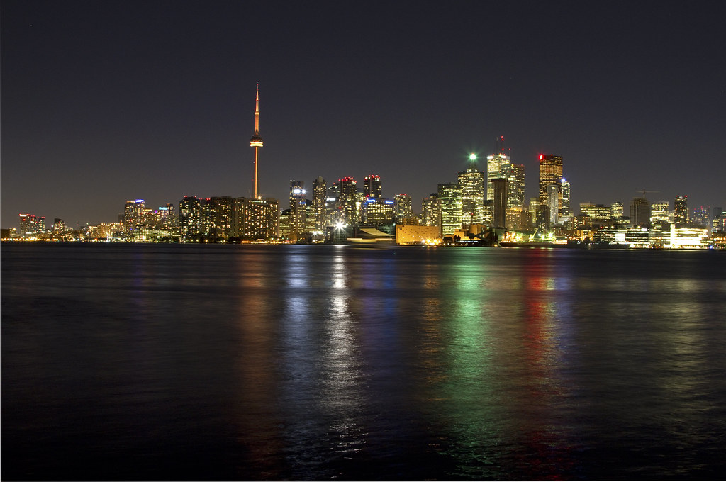 Toronto Skyline from the Toronto Islands Wards Island