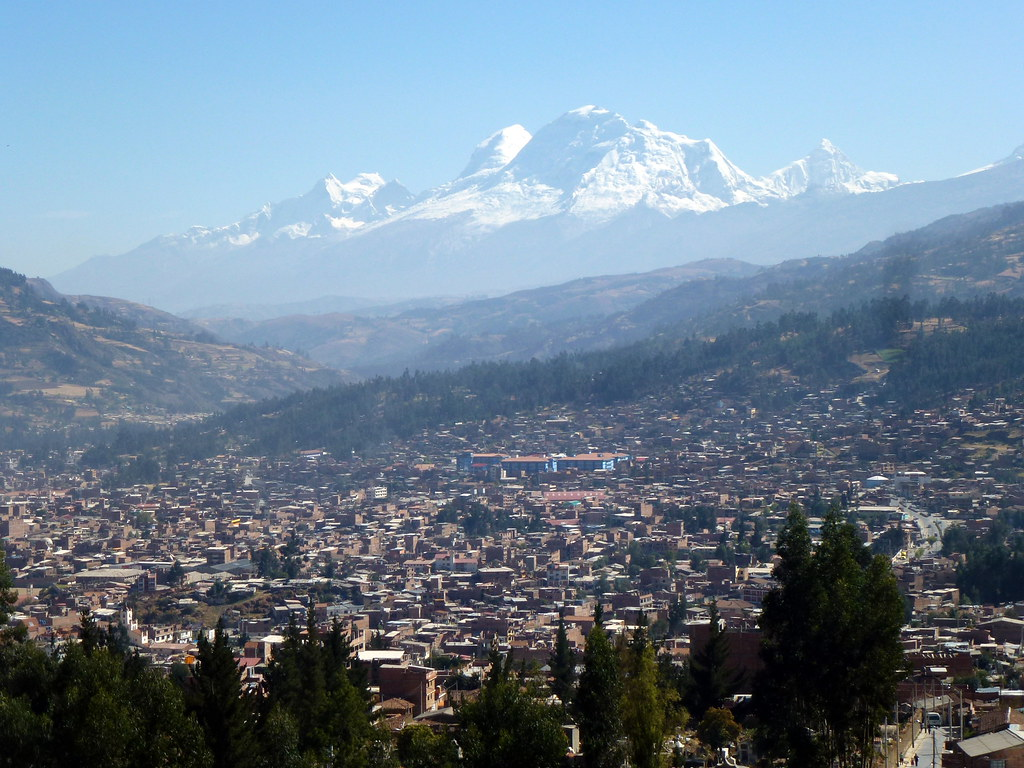 Huaraz y el Huascaran  Premire journe dacclimatation