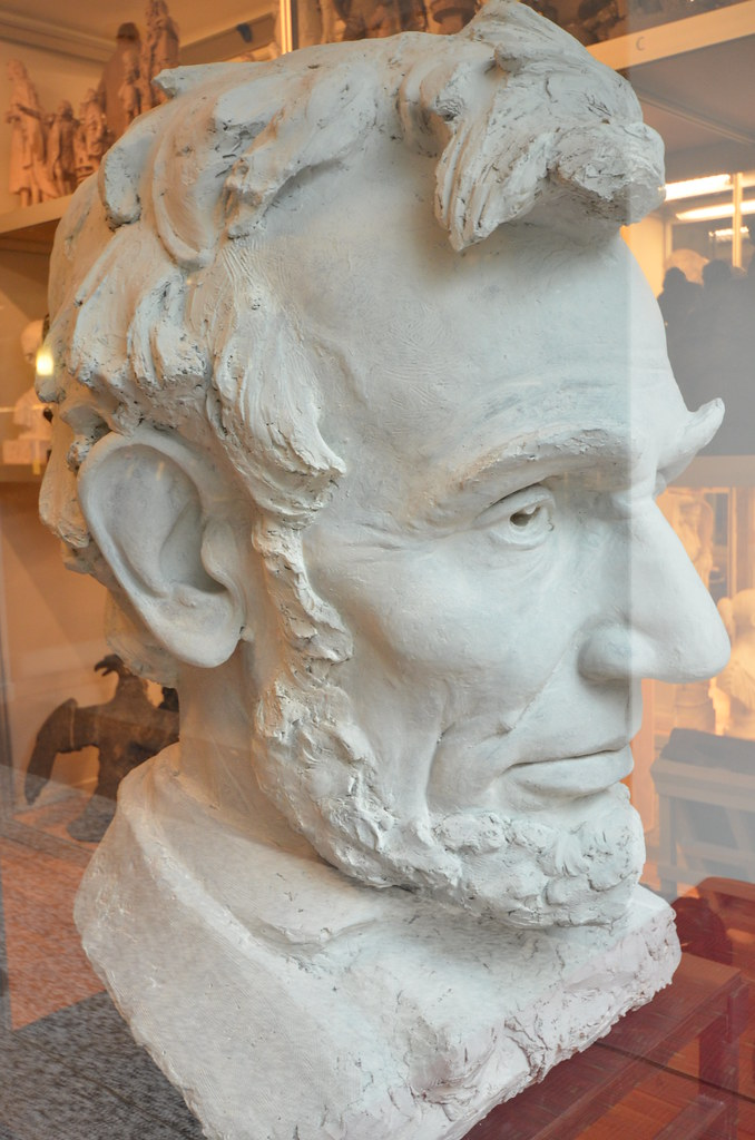 NewYork Historical Society Bust of Abraham Lincoln iden
