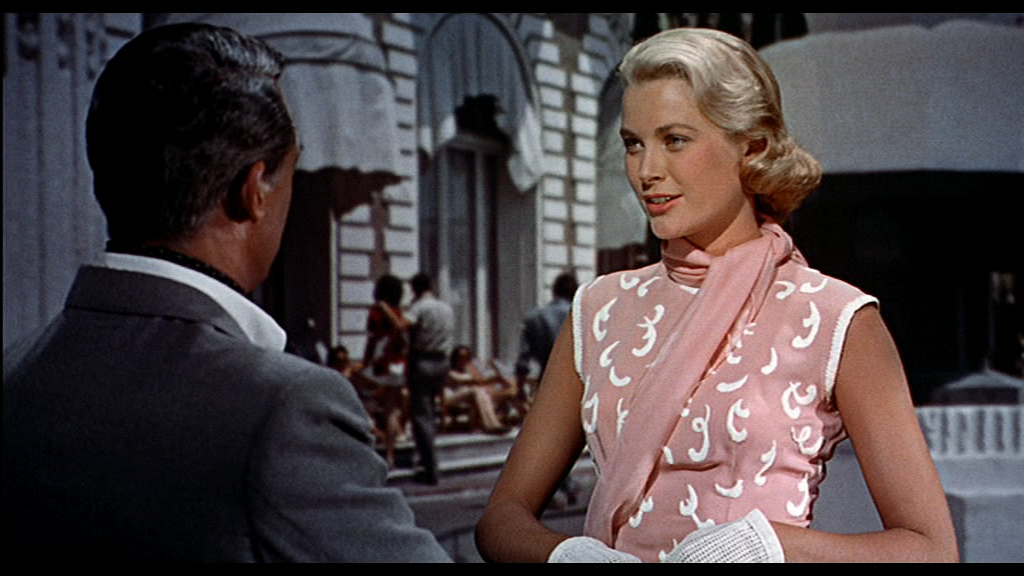 Grace Kellys Pink Dress In To Catch A Thief 1955 Flickr