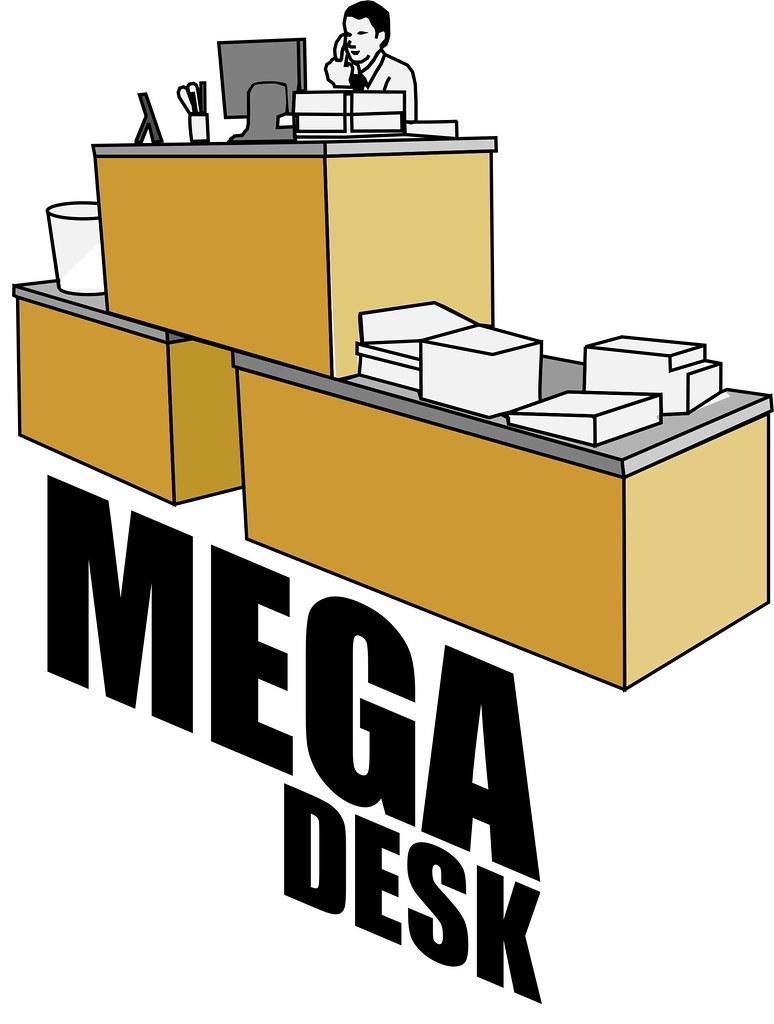 Mega Desk  Leon Crackston  Flickr