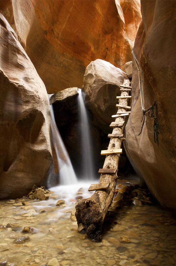Slot Canyon Utah  Slot canyons are cool waterfalls are