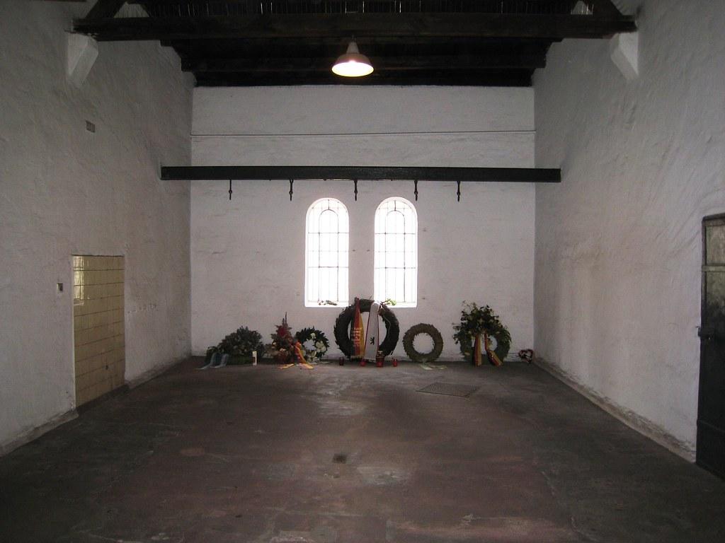 Execution Chamber Plotzensee Prison Berlin