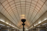 Barrel Vaulted Ceiling of Gants Hill Station   In the 1930 ...