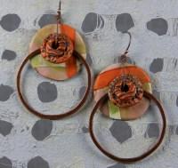 Dirty Dancing Earrings - Polymer Clay   For Week 38/52 ...