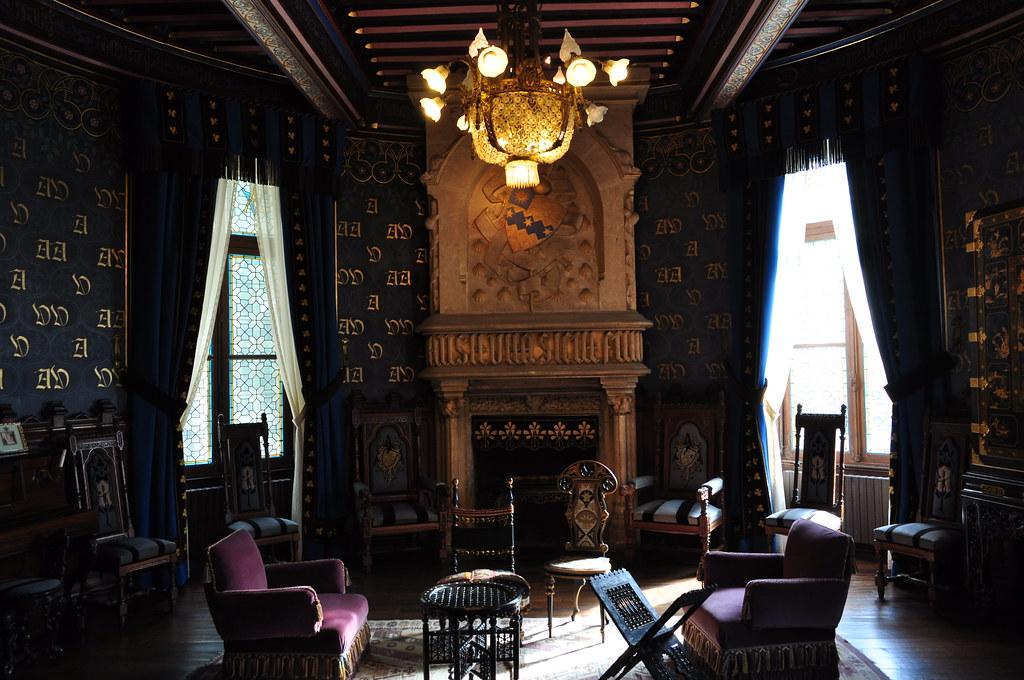 La chambre de lEmpereur chteau dAbbadia Hendaye Pays
