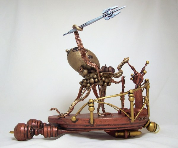 Octopus Steampunk Chariot 2 Pete Builder' Studio