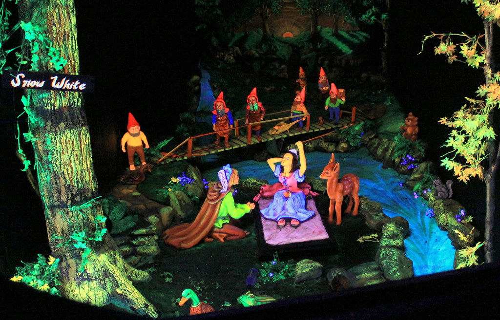 Rock Citys Fairyland Caverns Snow White  After spending