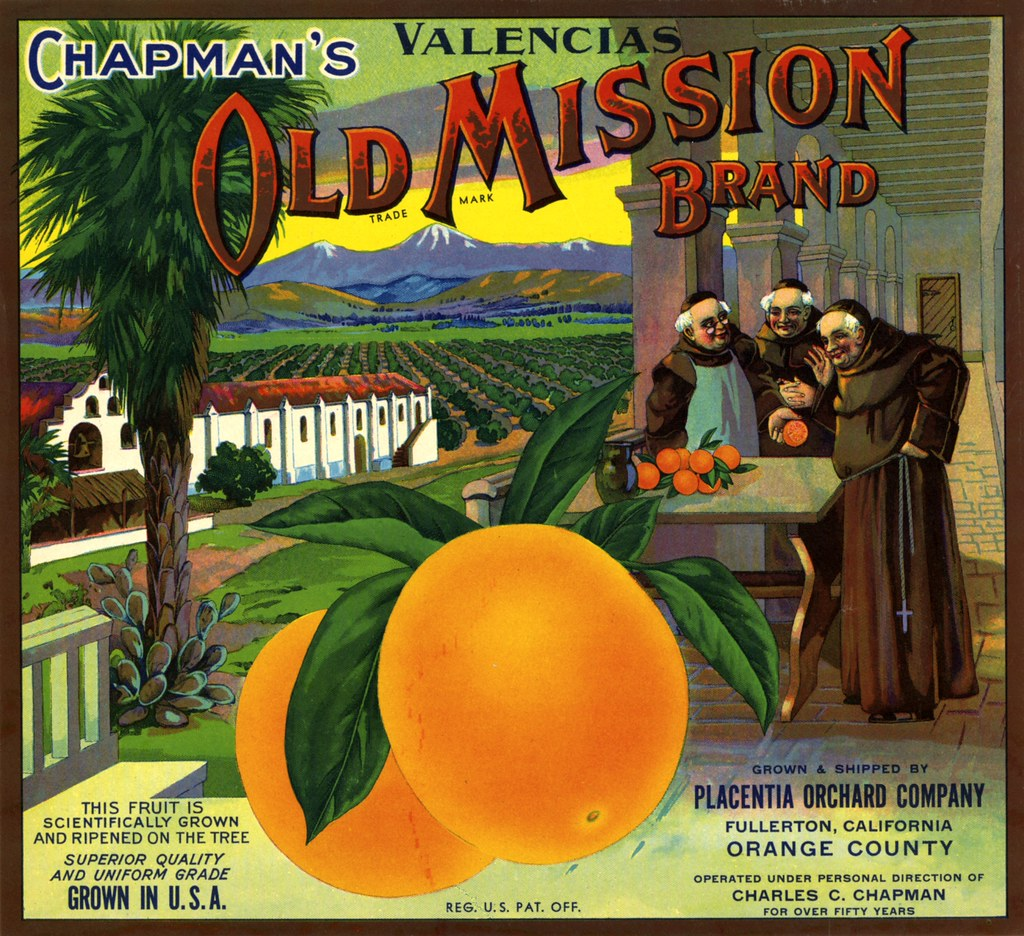 Free Fall Harvest Wallpaper Old Mission Orange Crate Label There Are No Known