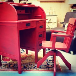 Red Childrens Desk Chair Aluminum Pool Chairs Antique Children S And Paris On Ponce Le Maison By Rouge