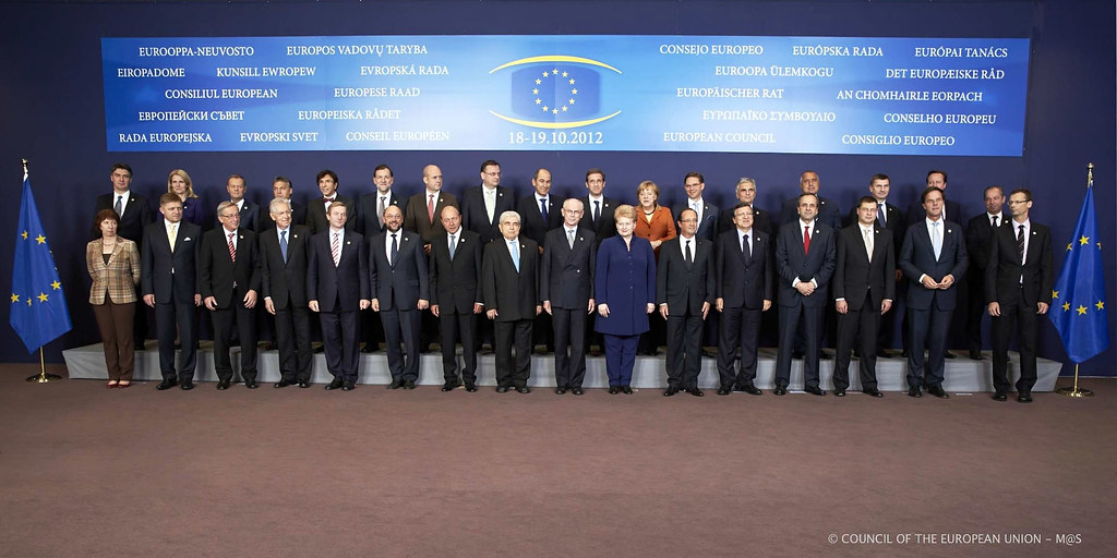 European Council  Family Photo  The 27 Prime Ministers