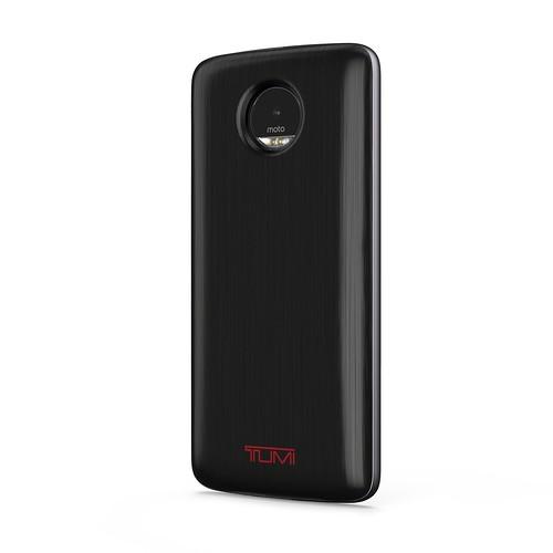 Esta es la Tumi Power Pack, una pila de extra duración bajo el concepto de Moto Mods.