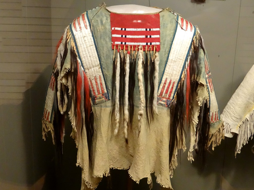 River Crow Montana Wyoming War Shirt 18501900  Flickr