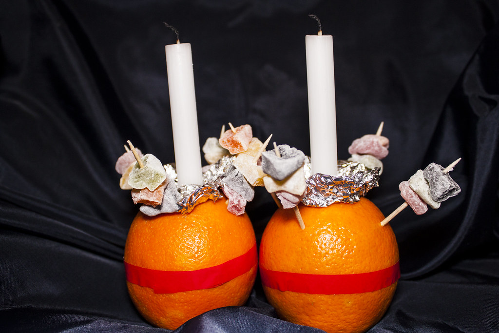 Christingle  Today is Christingle day at my Church The