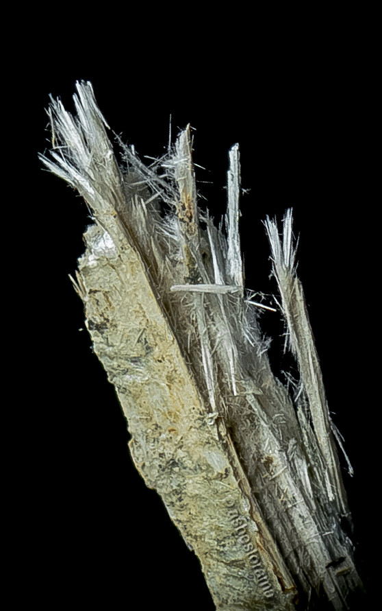 Anthophyllite Asbestos Ore Specimen An Example Of